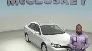 A99136DT Used 2010 Subaru Impreza Sedan Silver Test Drive, Review, For Sale -