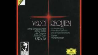 Karajan: Verdi - Requiem - 2. Dies irae (coro), Wiener Philharmoniker