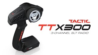 spotlight ttx300 3 channel 2 4ghz slt radio by tactic
