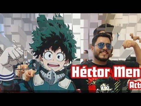 "Entrevista a Izuku ""Deku"" Midoriya My Hero Academia (Hector mena)"