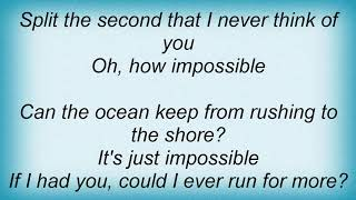 Download Andy Williams - It's Impossible Lyrics MP3 song and Music Video