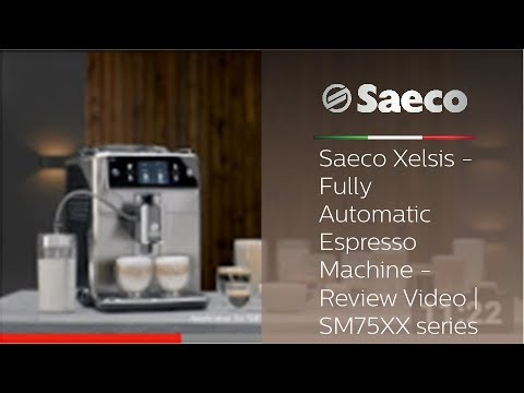 dfd174c4fb45 Saeco Xelsis - Fully Automatic Espresso Machine - Review Video ...