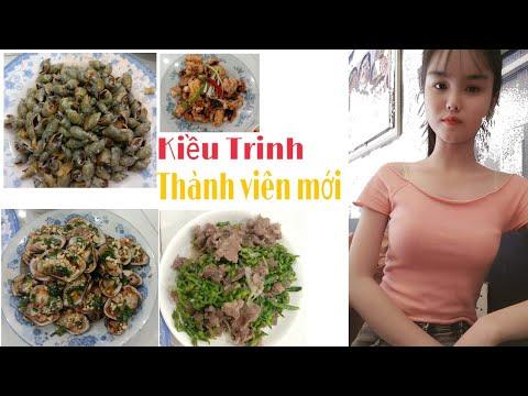 Chào đón*kiều trinh* bằng các món Bò xào thiên lý,sò lông nướng mỡ hành…v.v #amthuc #hagiangvlog