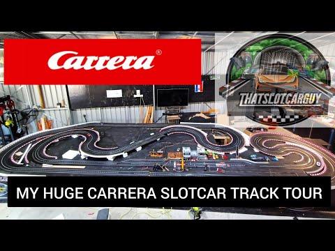 My Monster Carrera Slot car track walk around