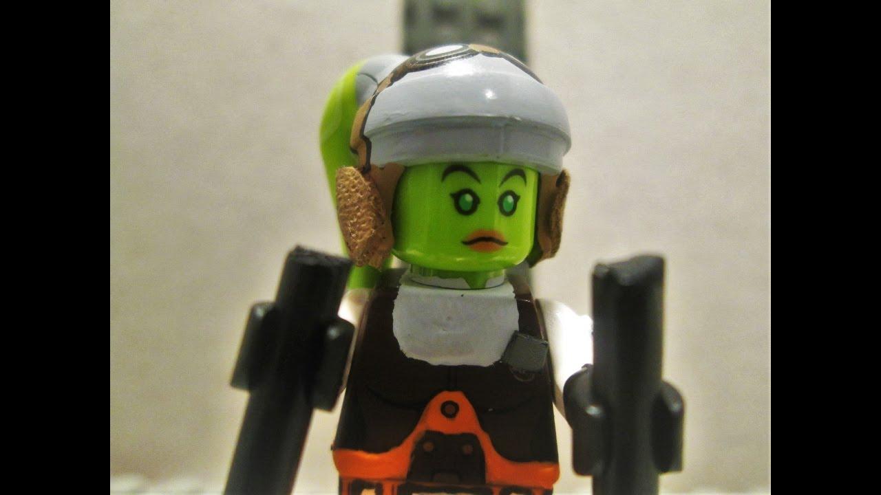 Star Wars Rebels season 3 custom minifigure Hera Syndulla ...  Star Wars Rebel...