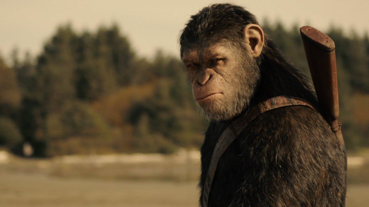 《猿人爭霸戰:猩凶巨戰》香港首回預告 War for the Planet of the Apes HK 1st ...