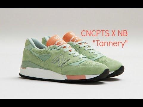 new balance 998 tannery