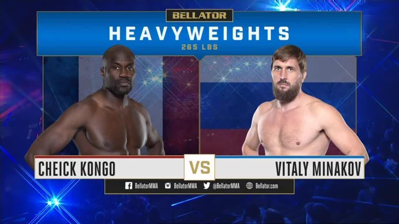 Виталий Минаков vs. Чейк Конго II /  Minakov vs. Kongo 2