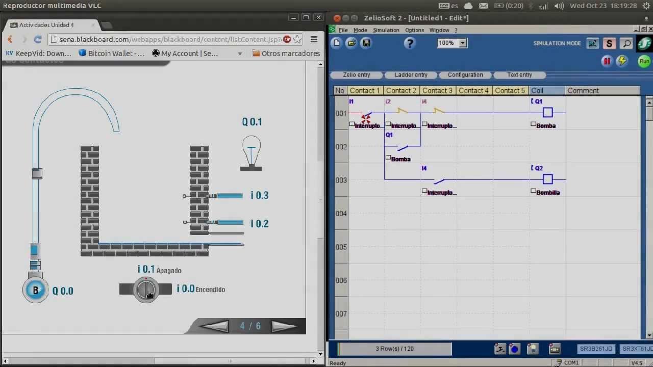 Interlocking Relay System Plc Zelio Soft
