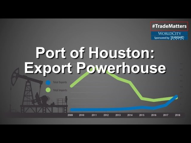 The value of Port Houston's oil exports have exceeded its oil imports for the first time in years.
