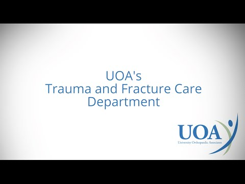 Fracture Care & Trauma Surgery from Expert Surgeons in NJ at UOA