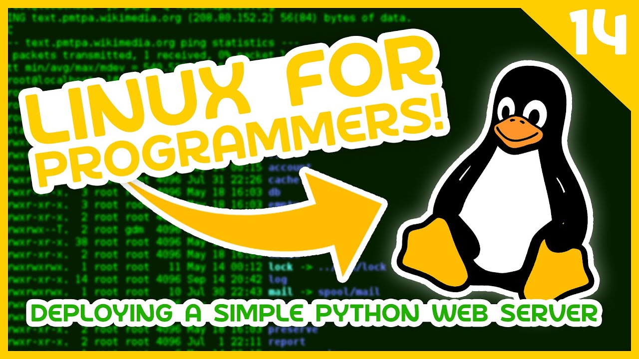 Linux for Programmers #14 - Deploying a Simple Python Web Server