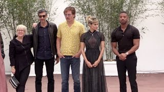 Michael B Jordan, Sofia Boutella, Michael Shannon and more in Cannes for the Promotion of Fahrenheit
