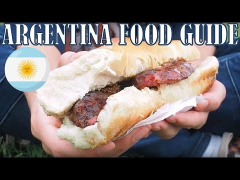 Argentina Food Guide Compilation
