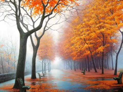 Караоке  Русские Песни  Осенние листья  Karaoke175