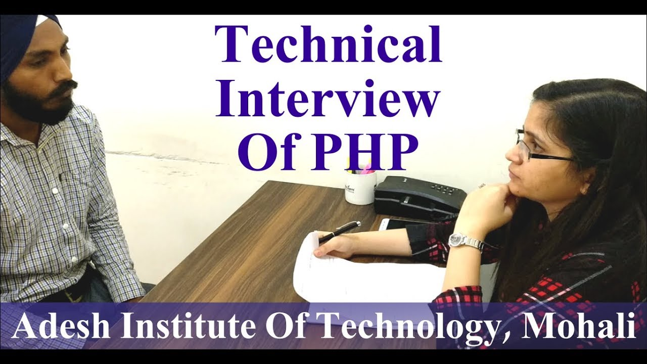 PHP Interview Of Adesh Institute Of Technology Gharaun
