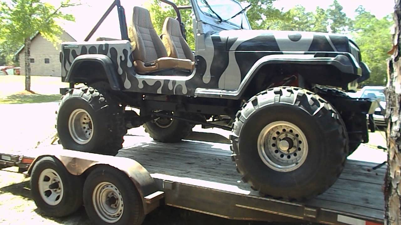 ANDREA'S FINDS...1988 JEEP WRANGLER BIG BOY TOY....FOR ...