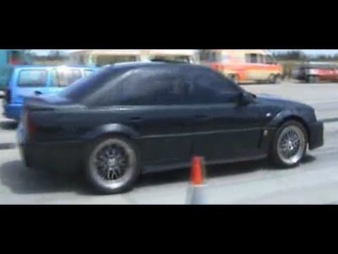 lotus omega carlton vs opel kadett turbo drag race 1 4. Black Bedroom Furniture Sets. Home Design Ideas