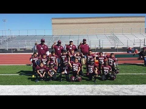 Flour Bluff Youth Sports - 2013 South Texas Youth Football League Freshman Hornets highlights