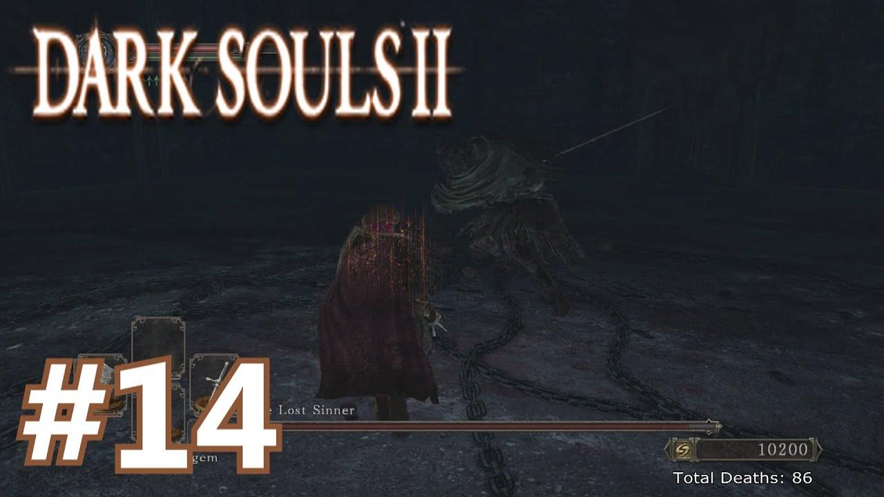 dark souls 2 how to kill lost sinner