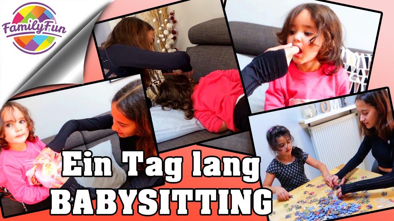 1 Tag lang BABYSITTING - Miley als MAMA ERSATZ   daily Vlog