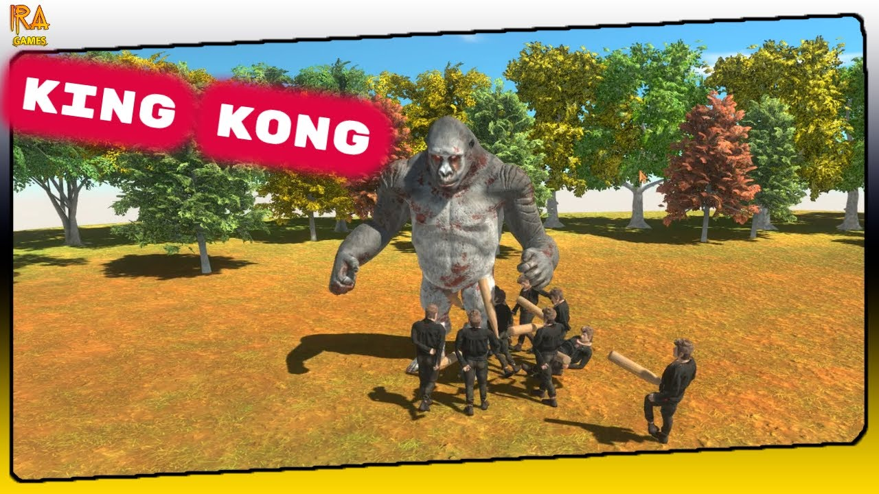 Animal Revolt Battle Simulator - KING KONG a Criatura mais Poderosa do Jogo