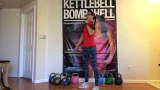 Kettlebell Bombshell Cardio Workout Part 1