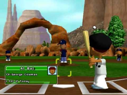 Backyard Baseball 2005 Let's play Episode 2 w/ Baltimore ...
