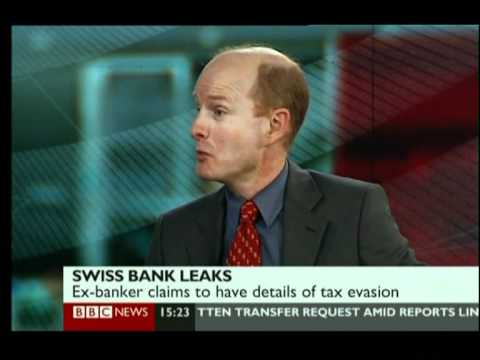 FORMER SWISS BANKER EXPOSING RICH TAX EVADERS USING OFFSHORE ACCOUNTS