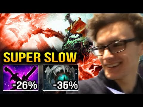 Miracle- OD Sange & Yasa Item Build then Skadi - SUPER SLOW Dota 2