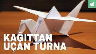 Origami: Kağıttan Uçan Turna Yapımı