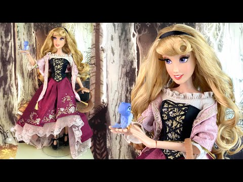 Aurora As Briar Rose Sleeping Beauty LE 60th Anniversary Doll Review/Out Of Box