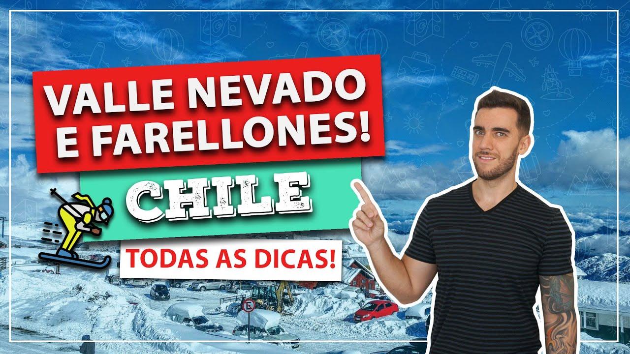 ☑️ VALLE NEVADO e FARELLONES! Todas as dicas desse passeio INCRÍVEL perto de Santiago do Chile!