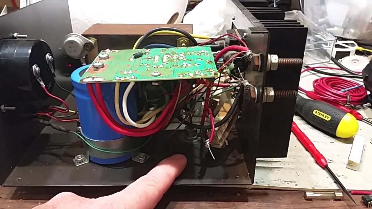 Troubleshooting and Repair of an Astron RS-20M Power Supply ... on astron capacitors, astron rs-35a schematic, antenna tuner schematic, balun schematic, astron 50 schematic, cde ham 3 schematic, astron rs-12a schematic, astron 35m board,
