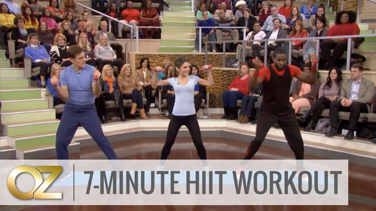 photo about Dr Oz 7 Minute Workout Printable called The 7-Instant HIIT Training