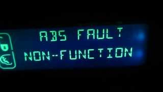 Abs Fault Non Function Xsara Pic