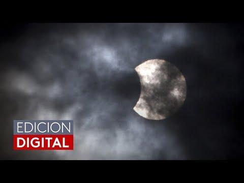 Las nubes casi impiden que residentes de Illinois disfrutaran el eclipse solar