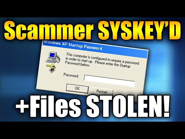 SYSKEYING A Tech Support Scammer! + FILES STOLEN (Scammers Gets SYSKEY'D!)
