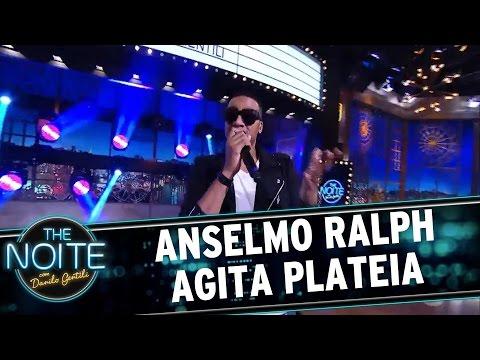 """Anselmo Ralph canta """"Não me toca""""   The Noite (07/04/17)"""