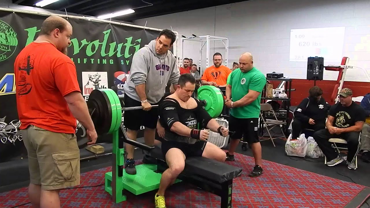 Brian Shaw 620lb bench press - YouTube