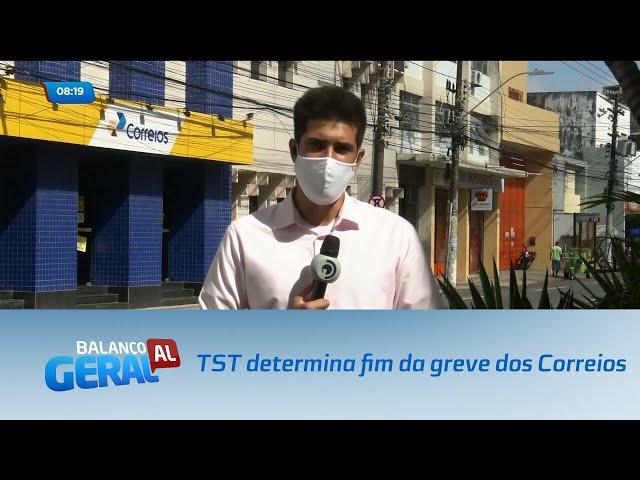 TST determina fim da greve dos Correios