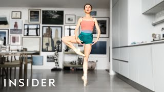 Professional Ballerina's Workout Routine While Stuck At Home (ft. Isabella Boylston)