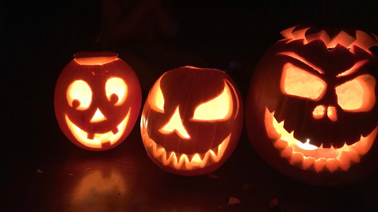 Scary Face Pumpkin Carving Patterns Www Topsimages Com
