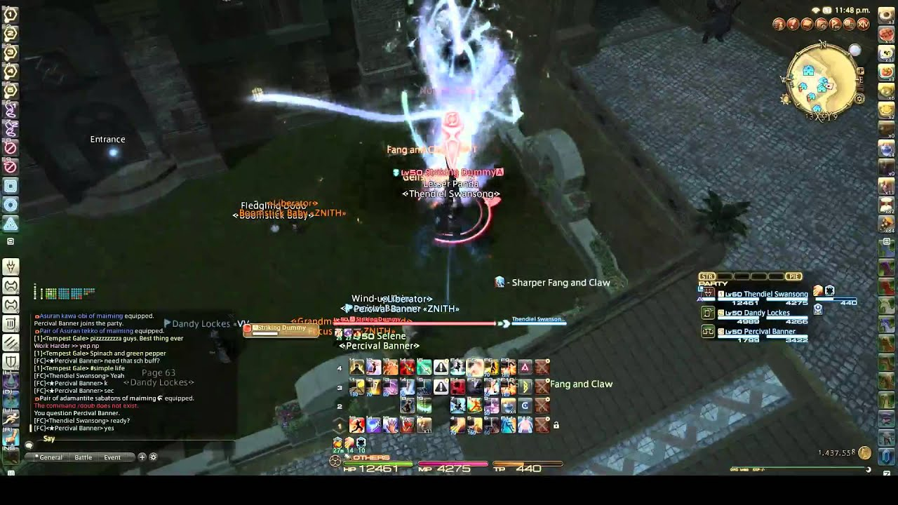 FFXIV: HW - Dragoon (DRG) Theory in Practice: Extra Geirskoguls at Insane  Skill Speeds by Thendiel Swansong