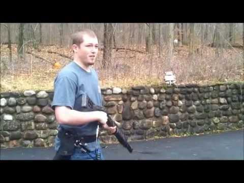 Airsoft Gas SPAS-12 Live Fire Demonstration
