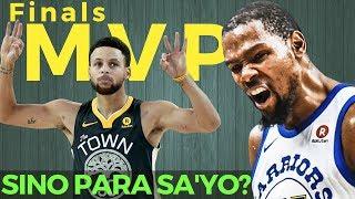 Kevin Durant or Stephen Curry: Sino Dapat ang Naging NBA Finals MVP