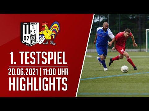 Viktoria Kelsterbach - SKG Bauschheim II | 1. Testspiel | Highlights | 20.06.2021