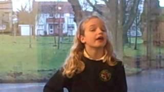 Hannah sings Scots Wha Hae