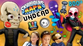 Skylanders Raps: UNDEAD ELEMENT SONG (800th Video) Hunting for Kaos Story Music Video thumbnail