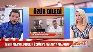 İzmir Marşı'na küfür Ebubekir Öztürk'e pahalıya mal oldu
